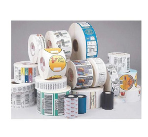 2021 customized round roll packing adhesive sticker label printed color vinyl sticker