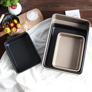 Deepen and thicken non-stick bakeware, bread pan, square, household bakeware, mini easy to clean