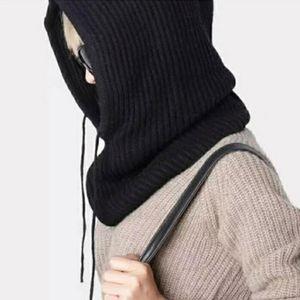 Fashion Cashmere Winter Knitted Hat Beanie Women Scarf Beanies Skullies Color Unisex For Women Hat Solid Hats Bonnet Men Ca Z7Z0