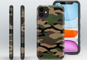 Fashion Camouflage Soft TPU Designer Case for iPhone 11 12 Mini Pro X XS XR Max 7 8 8plus SE Plus Cell Phone Cases Cover Coque Fundas
