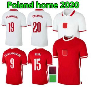 Hombres + Kits Kits 2021 Polska Lewandowski Soccer Jersey 20 21 Milik Pol Piszczek Polonia Camisas de fútbol Zielinski Glik Krychowiak Yoga Jóvenes Niños