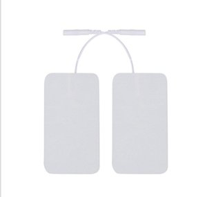 2020 Rectangle E-Stim Electrode Pad Unit Tens Acupuncture Digital Therapy Machine Massager Erotic Replacement Pads
