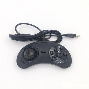 SATURN USB Handle PC Lidar com Máquina de Máquina de Jogo Material Produto Plástico Tamanho 14 * 7 * 3.5cm Punho nostálgico