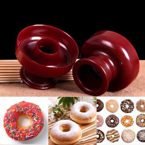 Donut Maker Cookies Cutter Pastry Pudding Cake Decor Diy Mold Mould Tool Bakery Mould Mould Baking Tools Free DHL