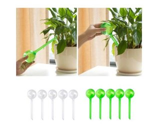 5pcs Automatic Plant Self Watering Equipments Water Feeder Plastic PVC Ball Plant Flowers Water Feeder Indoor Outdoor Watering Cans