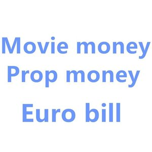 Movie Prop Banknote 10 Euro Toy Currency Party Party Fake Money Children Gift Dol jllIoI mx_home