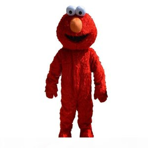 2019 Factory direct sale professional Make elmo mascot costume adult size elmo mascot costume free shipping