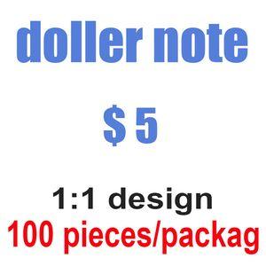 US Dólar Hot Sales Falso Money Money Filmes Prop Prop Bancos Nota Contando Prop Money Festive Party Games Brinquedos Colecções Presentes 048