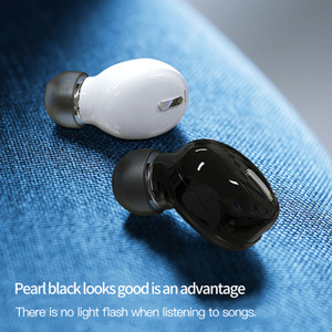 Tasarım Yeni X9 Mini 5.0 Bluetooth Kulaklık Spor Oyun Kulaklık Mic ile Kablosuz Kulaklıklar Handsfree Stereo Kulakiçi için Xiaomi Tüm Telefonlar için