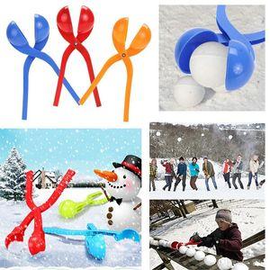 Winter Snowball Maker Sand Mold Tool Kids Toy Lightweight Compact Snowball Fight Sports Outdoor Christmas Games for Children CCA3334