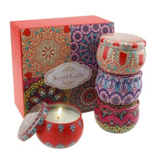 Christmas scented candles party atmosphere supplies soy wax smokeless scented candles Christmas candle Plant Gift box vanilla rose