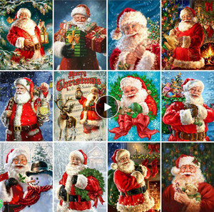 5d Diamond Painting Christmas Santa Claus Home Decoration Embroidery Handcraft Art Kits Picture many sizes to choose