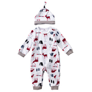 kids  clothesSpring new children's wear ins baby long sleeve cartoon printed one-piece suit