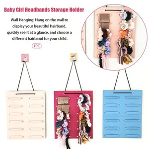 Hair Tie Headbands Holder Space Saving Display Wall Door Baby Girl Fixing Home Decor Organizer Accessories Hanging Storage Bag
