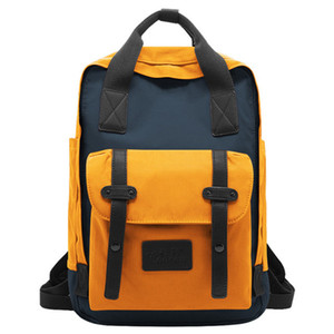 New 2020 Fashion Donut School Bag Korean Version Trend Oxford Cloth Backpack Leisure Usb Charging Bag Outdoor Travel Waterproof Backpack