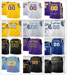 2021 인쇄 남성 Dennis 17 Schroder Alex 4 Caruso Lebron 23 James Anthony 3 Davis Kentavious 1 Caldwell-Pope Kyle 0 Kuzma Jerseys