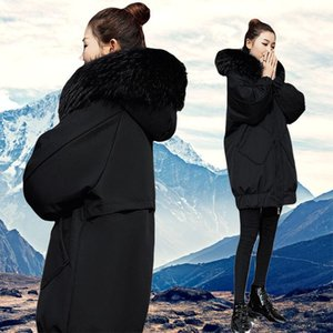 2020 Winter Coat Female Jacket New Hooded Parka Warm Winter Jacket Women Wadded Ladies Plus Size Long Women's Down A418