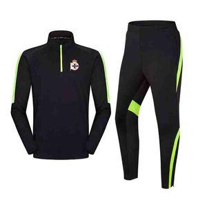 20-21 Real Club Deportivo de La Coruña Top Adult Kids training tracksuit winter long sleeve Soccer sportwear Football sets children sport