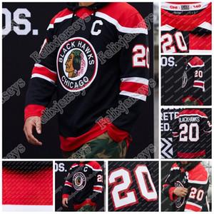 Chicago Blackhawks 2020-21 Retro Jersey Retro Kirby Dach Patrick Kane Jonathan Toews Alex Debrincat Duncan Keith Saad Andrew Shaw