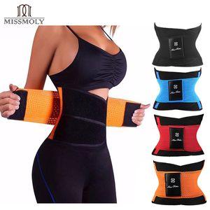 Miss Moly Moly Moly Moly Modeling Strap Cintura Cincher para Mulheres Homens Treinador de Cintura Barriga Emagrecimento Bainha Shaperwear Tummy CORSET