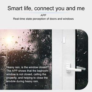 Smart Door Window Sensor 2.4 جيجا هرتز Wifi إنذار أمن الوطن كاشف الهاتف مراقب الهاتف GK99