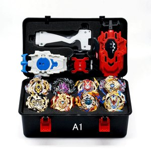 Hot Sale Beyblade Burst Box sports Starter Zeno Excalibur B-122 B121 B120 B117 With Launcher And Retail Box Gifts For Kids Z1119