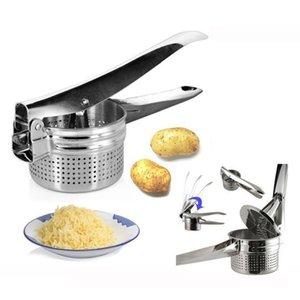 Esencial nuevo acero inoxidable Potato Master Ricer puré Fruta Verduras Juicer Crusher Press Squeejer Maker Cocina Herramienta 201201