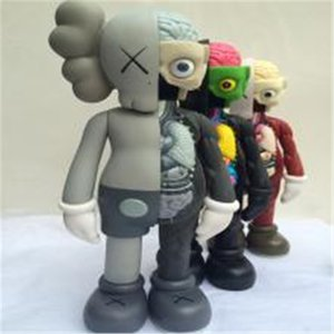 20 CM 37cm Most Realistic Kaws doll limited Sesame Street car decoration ornaments fashion hand made model gift toys