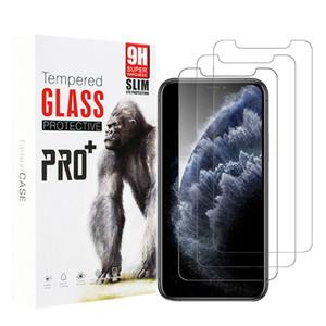 9H High-Transmittang für iPhone 7 8 6S plus 3Pack Explosionsgeschützt 5D 9D 10D Tempered Gla Screen Protector