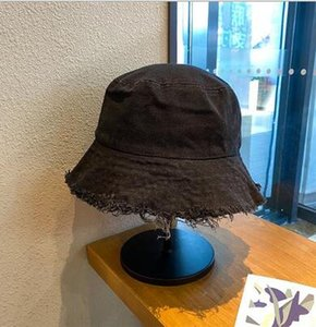 Fisherman Hat Female Fashion Spring And Autumn Thin Style All-match Big Brim Hat Tassel Silk Solid Color Simple Round Brim Hat HHE3339