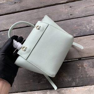 2020 Fashion High Quality Handbags Women Bag Designer Bag Genuine Leather Shoulder Bags Cross body Bag Pico Belt Casual Totes Bags 16CM