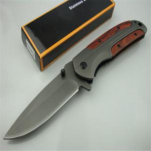 Browning DA43 Pliant 3CR13 Blade Pays de Palet de Palet Titanium Couteau tactique de poche Camping Couteau de chasse Couteau pliant DA167 DA166 DA138