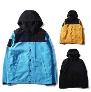 مصمم الأزياء هوديي رجل سترة الملابس رسائل التطريز عاكس جاكيتات مقنعين الرجال السترات الفاخرة هوديس noctilucent حجم M-3XL