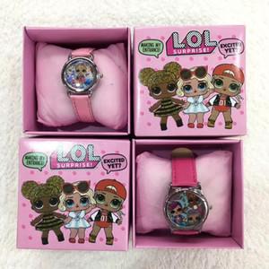 LOL series cartoon children's watch boxed watch electronic watch set gift children's day birthday gift wholesale