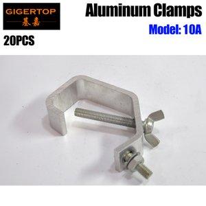Tiptop New 10a алюминиевый зажим небольшого размера дешевая цена 2.3см широкий свет Hook Hook DJ Party Beigning Clamp Mount Theate Stage такелгует