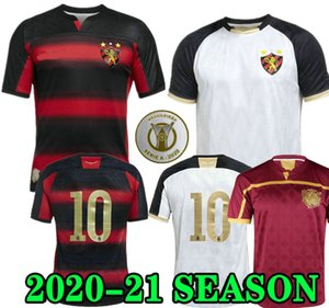 Hernane 20 21 Sport Recife Home Red Soccer Jersey Women Sander 2020 2021 White Owing Thing Thing Football Shirt Club Mailson Adryelson Charles