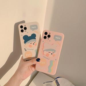 Original autorisiertes iPhone 11PRO 12 Mobiltelefongehäuse Rubik's Cube 7/8P für Xs Max 2 Farben von DHL