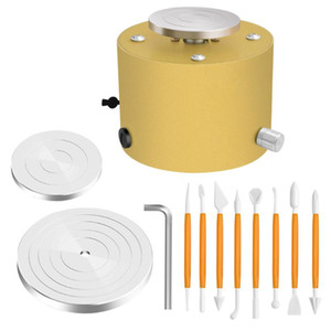 Pottery Wheels Electric Pottery Rotella macchina Mini Argilla Throwing Making Machine Ceramica DA TE Craft Ceramic Clay Kit Potter