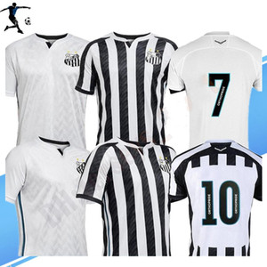 Thai 2020 Santos FC Fussball Jersey 20 21 Santos Startseite Gabriel Rorrygo Dodo Renato Sasha Football Hemden