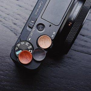 Botão de lançamento do obturador de madeira da câmera para RX100 II III VI VII RX100VI RX100VII RX100M7 RX100M7 RX100M6 M7 M61