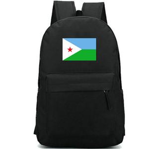 Djibouti backpack Sky star flag daypack Nice banner schoolbag Country badge rucksack Sport school bag Outdoor day pack