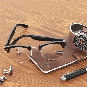 Gafas inteligentes Bluetooth 5.0 AI Talking Glasses F1 IP67 Impermeable Anti-Blue Light UV Gafas de música portátiles