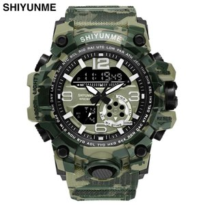 Military Watch Digital Shiyunme Brand Watch S Shock Men's Wristwatch Sport Led Watch Dive Wateproof Fitness Sport Watches sqcpxm hjfeeling