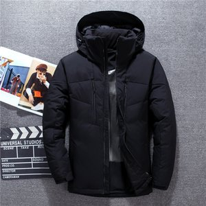 Grey Blue Black Hooded Detachable Keep Warm Windproof Waterproof Men's Down Jacket Winter Male Coats,8916 Y1120