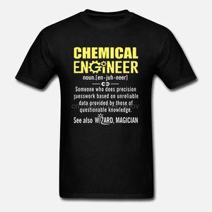 Definizione di ingegnere chimico Top Plain Sovradischi Oversize O Collo Cotone Custom Manica Corta Divertente Designer T Shirt Uomo Graphic Hoodie