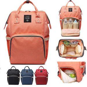 Baby Diaper Bag Mummy Maternity Nappy Bag Hang Stroller Large Capacity Newbron Travel Backpack Handbag Nursing Infant Care