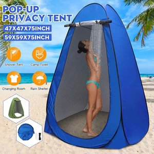 1 2 person shower tent beach fishing outdoor camping toilet tent dressing room bird watching with Carrying Storage Bag