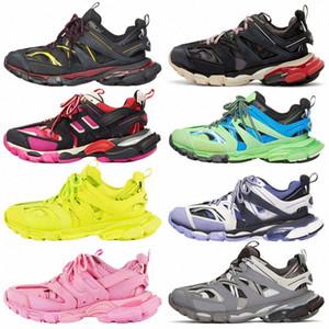 2021 Track.2 3.0 4.0 Parça Koşucular 2 Erkekler Bayan Track2 Slayt Sandalet Spor Rahat Ayakkabı Eğitmenler Sneakers 35-45 O4AH #