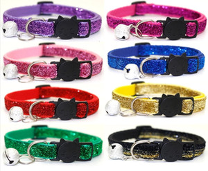 PetsHome Cat Collar, Dog Collar with abrazine bell, Adjustable Collars for Small Dog Puppies and Cat