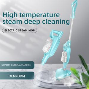 2021 Suzhou Steam Mop Multipurpose Handheld Pushrod 2 in 1 High Temperature Steam Mop for Home